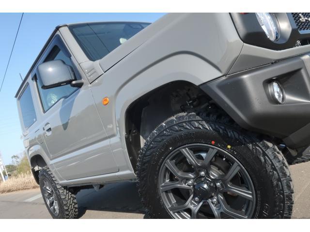XL 4WD 届出済未使用車 1.5インチリフトアップ 社外新品16インチアルミ 新品ジオランダーMTタイヤ 社外フロントグリル 衝突軽減ブレーキ レーンアシスト ダウンヒルアシスト 衝突安全ボディー(61枚目)