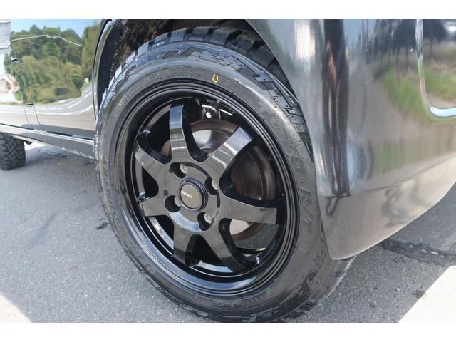 クルーズターボ パートタイム4WD 新品14インチアルミホイール 新品オープンカントリーR/Tタイヤ オーバーヘッドシェルフ ケンウッドCDオーディオ USB接続 ETC 両側スライドドア(8枚目)