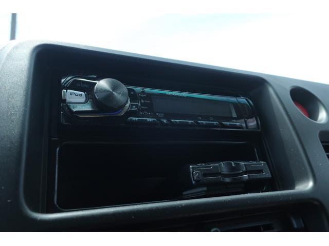クルーズターボ パートタイム4WD 新品14インチアルミホイール 新品オープンカントリーR/Tタイヤ オーバーヘッドシェルフ ケンウッドCDオーディオ USB接続 ETC 両側スライドドア(11枚目)