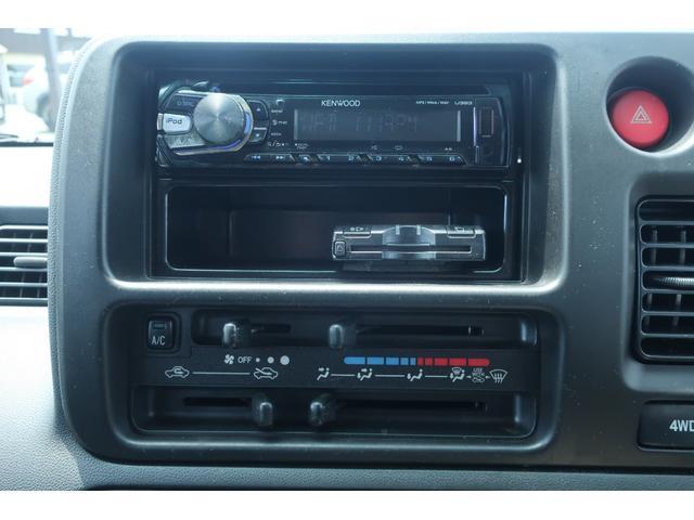 クルーズターボ パートタイム4WD 新品14インチアルミホイール 新品オープンカントリーR/Tタイヤ オーバーヘッドシェルフ ケンウッドCDオーディオ USB接続 ETC 両側スライドドア(36枚目)
