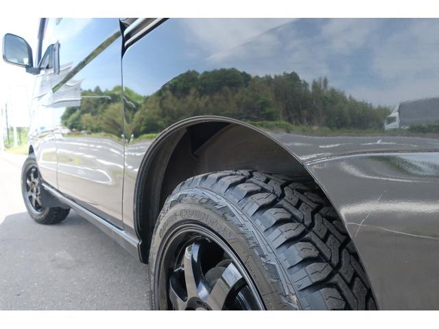 クルーズターボ パートタイム4WD 新品14インチアルミホイール 新品オープンカントリーR/Tタイヤ オーバーヘッドシェルフ ケンウッドCDオーディオ USB接続 ETC 両側スライドドア(70枚目)