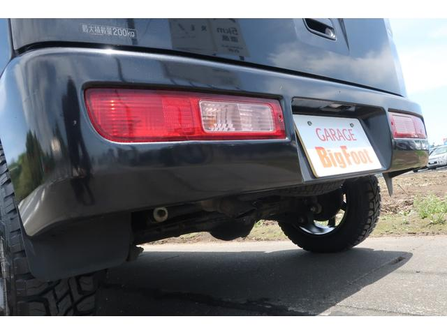 クルーズターボ パートタイム4WD 新品14インチアルミホイール 新品オープンカントリーR/Tタイヤ オーバーヘッドシェルフ ケンウッドCDオーディオ USB接続 ETC 両側スライドドア(74枚目)