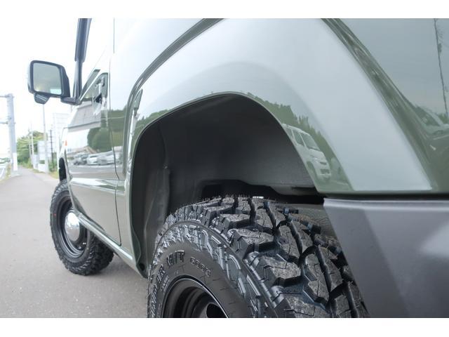 XC 届出済未使用車 陸送費無料 1.5インチリフトアップ 新品16インチホイール 新品ジオランダーM/Tタイヤ カスタムフロントグリル LEDヘッドライト スマートキー  シートヒーター(73枚目)