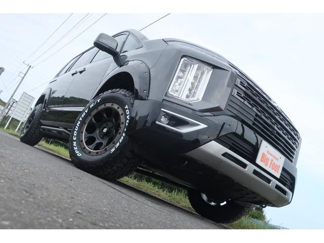 ジャスパー 4WD 登録済未使用車 1.5インチリフトUP オーバーフェンダー サイドステップ 新品16インチAW 新品MTタイヤ 10インチアンドロイドモニター 両側電動スライドドア LEDライト 衝突被害軽減(5枚目)