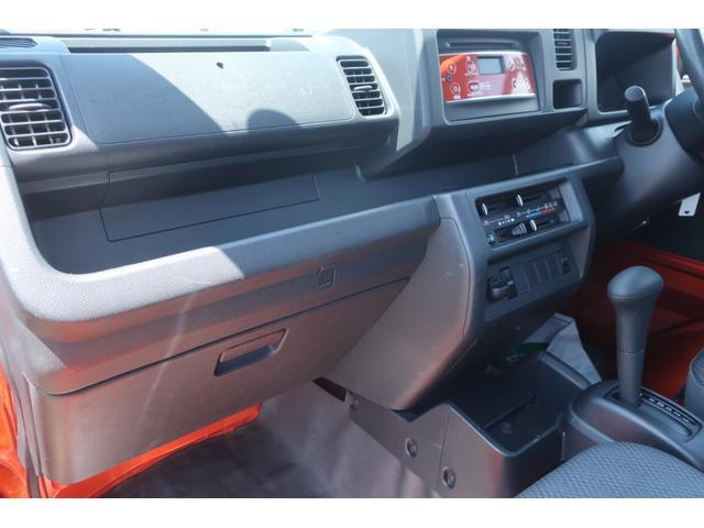 スタンダード 4WD 4速AT 新品14インチAW 新品タイヤトーヨーオープンカントリー 純正CDオーディオ AUX 荷台マット新品 アオリガード新品 ETC パワステ エアコン  運転席エアバッグ(20枚目)