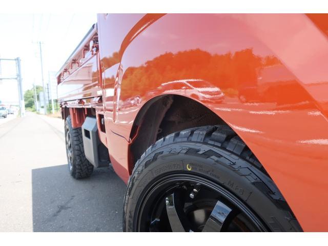 スタンダード 4WD 4速AT 新品14インチAW 新品タイヤトーヨーオープンカントリー 純正CDオーディオ AUX 荷台マット新品 アオリガード新品 ETC パワステ エアコン  運転席エアバッグ(52枚目)
