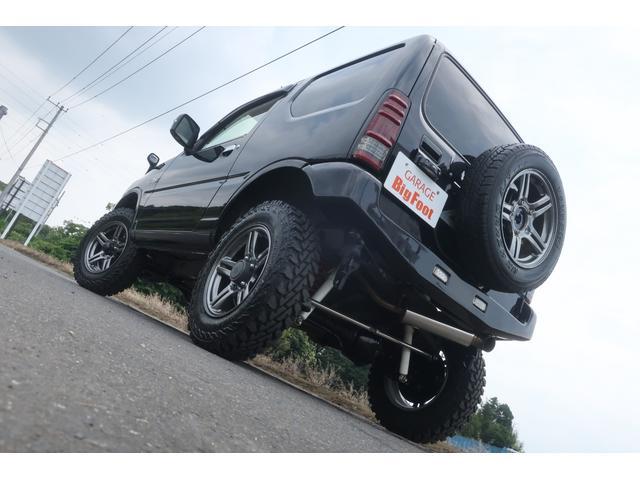 ランドベンチャー 10型 5速マニュアル リフトアップ 新品ジオランダーM/Tタイヤ MBRO製LEDテールランプ 社外マフラー クラリオンSDナビ 地デジ Bluetooth  ETC 黒合皮シート シートヒーター(6枚目)