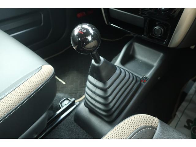 ランドベンチャー 10型 5速マニュアル リフトアップ 新品ジオランダーM/Tタイヤ MBRO製LEDテールランプ 社外マフラー クラリオンSDナビ 地デジ Bluetooth  ETC 黒合皮シート シートヒーター(11枚目)
