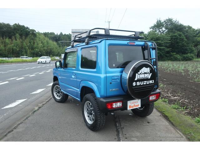 XL 4WD ディスプレイオーディオ JAOSリフトアップキット JAOSショック RAYS16インチアルミ オープンカントリーR/Tタイヤ ジーアイギアルーフラック ジーアイギアリアラダー シートカバー(2枚目)
