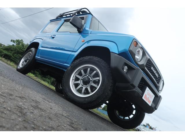 XL 4WD ディスプレイオーディオ JAOSリフトアップキット JAOSショック RAYS16インチアルミ オープンカントリーR/Tタイヤ ジーアイギアルーフラック ジーアイギアリアラダー シートカバー(5枚目)
