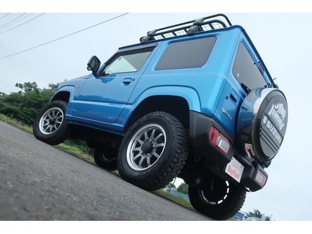 XL 4WD ディスプレイオーディオ JAOSリフトアップキット JAOSショック RAYS16インチアルミ オープンカントリーR/Tタイヤ ジーアイギアルーフラック ジーアイギアリアラダー シートカバー(6枚目)