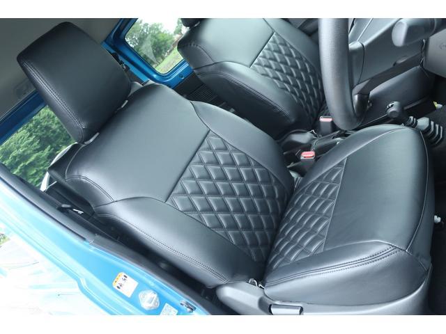 XL 4WD ディスプレイオーディオ JAOSリフトアップキット JAOSショック RAYS16インチアルミ オープンカントリーR/Tタイヤ ジーアイギアルーフラック ジーアイギアリアラダー シートカバー(12枚目)