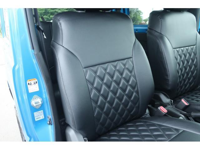 XL 4WD ディスプレイオーディオ JAOSリフトアップキット JAOSショック RAYS16インチアルミ オープンカントリーR/Tタイヤ ジーアイギアルーフラック ジーアイギアリアラダー シートカバー(15枚目)