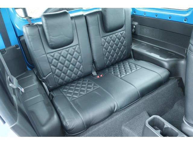 XL 4WD ディスプレイオーディオ JAOSリフトアップキット JAOSショック RAYS16インチアルミ オープンカントリーR/Tタイヤ ジーアイギアルーフラック ジーアイギアリアラダー シートカバー(55枚目)