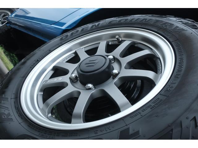 XL 4WD ディスプレイオーディオ JAOSリフトアップキット JAOSショック RAYS16インチアルミ オープンカントリーR/Tタイヤ ジーアイギアルーフラック ジーアイギアリアラダー シートカバー(69枚目)