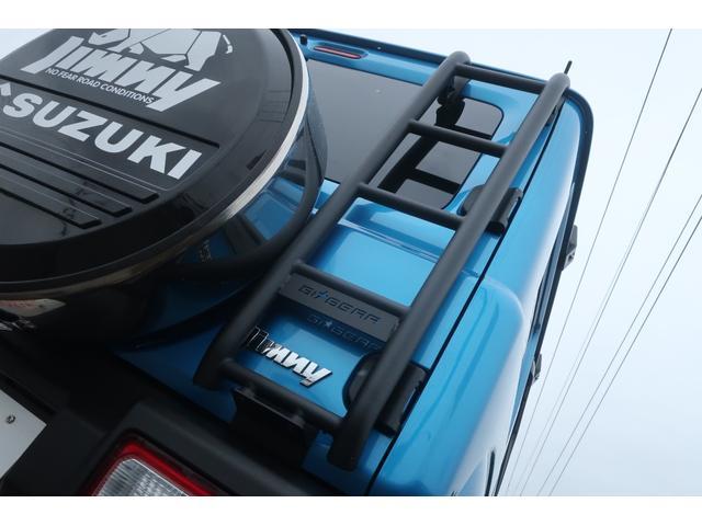 XL 4WD ディスプレイオーディオ JAOSリフトアップキット JAOSショック RAYS16インチアルミ オープンカントリーR/Tタイヤ ジーアイギアルーフラック ジーアイギアリアラダー シートカバー(73枚目)