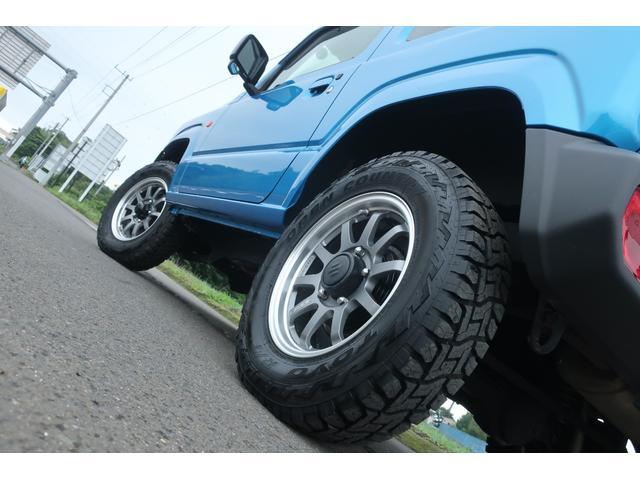 XL 4WD ディスプレイオーディオ JAOSリフトアップキット JAOSショック RAYS16インチアルミ オープンカントリーR/Tタイヤ ジーアイギアルーフラック ジーアイギアリアラダー シートカバー(75枚目)