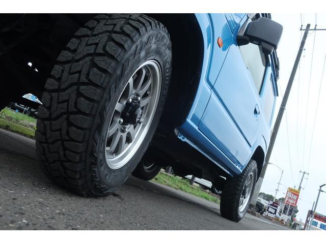 XL 4WD ディスプレイオーディオ JAOSリフトアップキット JAOSショック RAYS16インチアルミ オープンカントリーR/Tタイヤ ジーアイギアルーフラック ジーアイギアリアラダー シートカバー(76枚目)