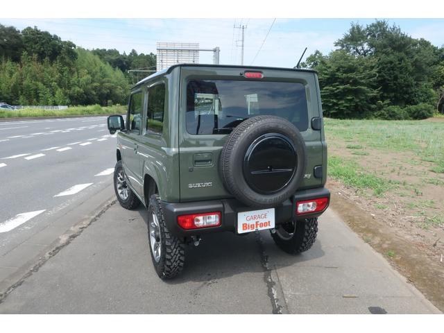 XL 4WD リフトアップ XC用16インチAW 社外フロントグリル 新品ジオランダー スズキセーフティーサポート シートヒーター オーディオレス ダウンヒルアシスト(2枚目)