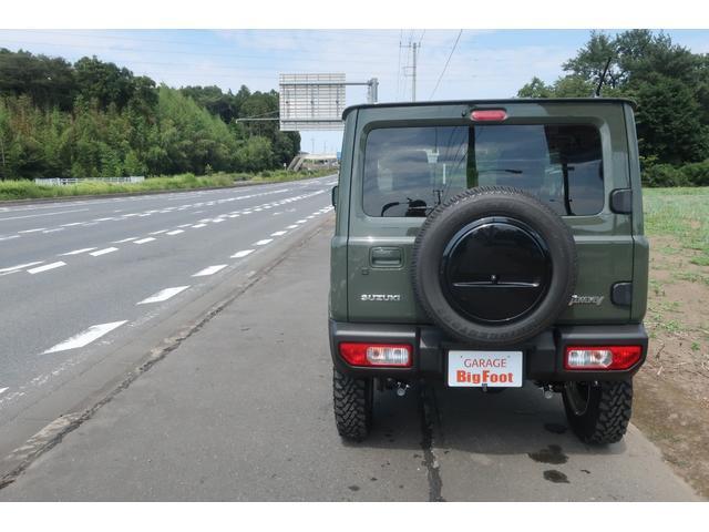 XL 4WD リフトアップ XC用16インチAW 社外フロントグリル 新品ジオランダー スズキセーフティーサポート シートヒーター オーディオレス ダウンヒルアシスト(4枚目)