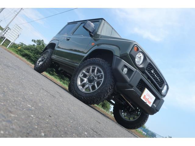 XL 4WD リフトアップ XC用16インチAW 社外フロントグリル 新品ジオランダー スズキセーフティーサポート シートヒーター オーディオレス ダウンヒルアシスト(5枚目)
