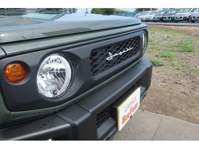 XL 4WD リフトアップ XC用16インチAW 社外フロントグリル 新品ジオランダー スズキセーフティーサポート シートヒーター オーディオレス ダウンヒルアシスト(7枚目)