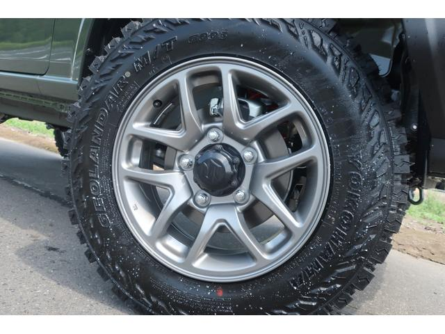 XL 4WD リフトアップ XC用16インチAW 社外フロントグリル 新品ジオランダー スズキセーフティーサポート シートヒーター オーディオレス ダウンヒルアシスト(8枚目)