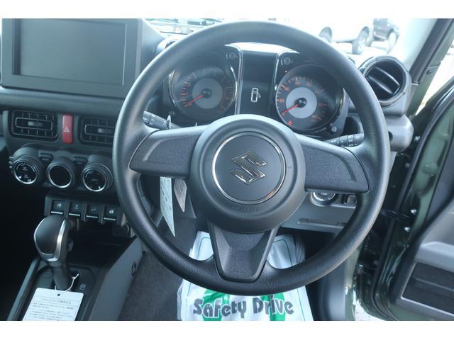 XL 4WD リフトアップ XC用16インチAW 社外フロントグリル 新品ジオランダー スズキセーフティーサポート シートヒーター オーディオレス ダウンヒルアシスト(10枚目)