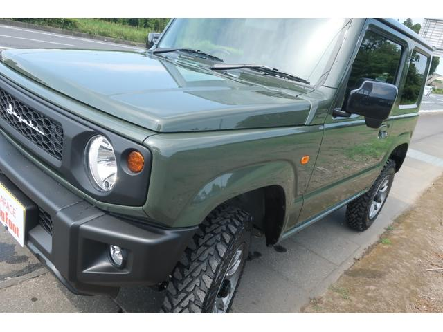 XL 4WD リフトアップ XC用16インチAW 社外フロントグリル 新品ジオランダー スズキセーフティーサポート シートヒーター オーディオレス ダウンヒルアシスト(53枚目)