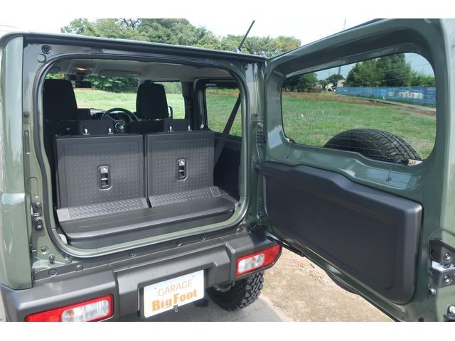 XL 4WD リフトアップ XC用16インチAW 社外フロントグリル 新品ジオランダー スズキセーフティーサポート シートヒーター オーディオレス ダウンヒルアシスト(60枚目)