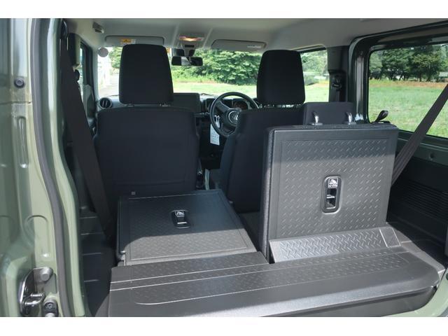 XL 4WD リフトアップ XC用16インチAW 社外フロントグリル 新品ジオランダー スズキセーフティーサポート シートヒーター オーディオレス ダウンヒルアシスト(61枚目)