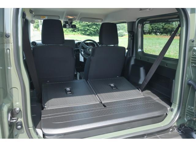 XL 4WD リフトアップ XC用16インチAW 社外フロントグリル 新品ジオランダー スズキセーフティーサポート シートヒーター オーディオレス ダウンヒルアシスト(62枚目)