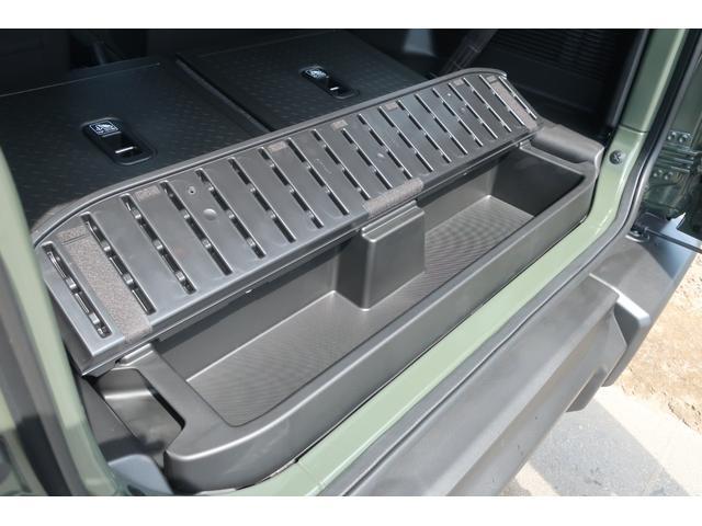 XL 4WD リフトアップ XC用16インチAW 社外フロントグリル 新品ジオランダー スズキセーフティーサポート シートヒーター オーディオレス ダウンヒルアシスト(63枚目)