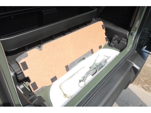 XL 4WD リフトアップ XC用16インチAW 社外フロントグリル 新品ジオランダー スズキセーフティーサポート シートヒーター オーディオレス ダウンヒルアシスト(64枚目)