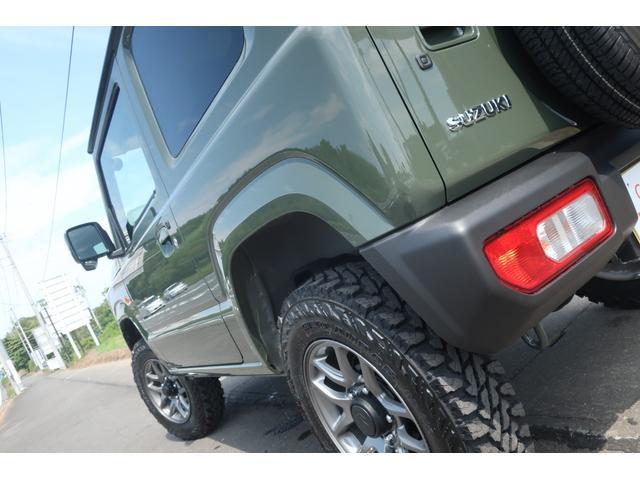 XL 4WD リフトアップ XC用16インチAW 社外フロントグリル 新品ジオランダー スズキセーフティーサポート シートヒーター オーディオレス ダウンヒルアシスト(65枚目)