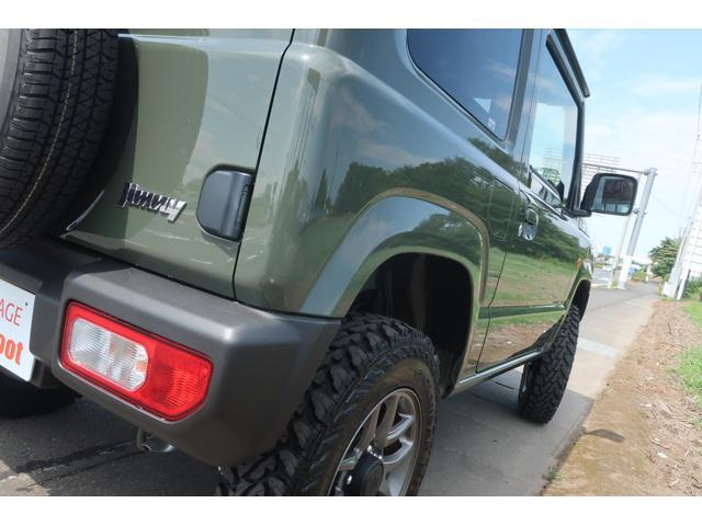 XL 4WD リフトアップ XC用16インチAW 社外フロントグリル 新品ジオランダー スズキセーフティーサポート シートヒーター オーディオレス ダウンヒルアシスト(66枚目)