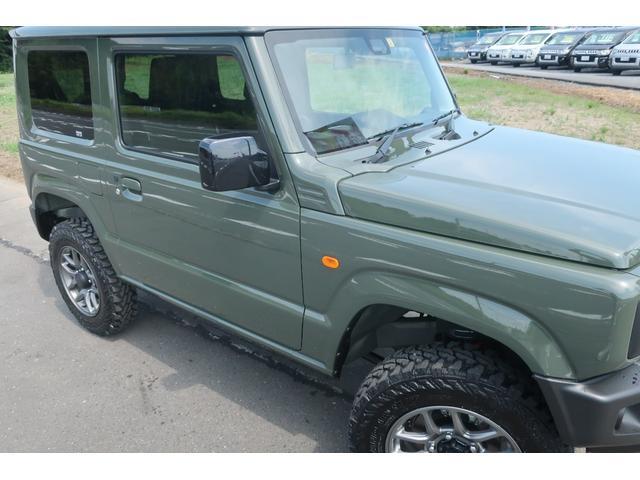 XL 4WD リフトアップ XC用16インチAW 社外フロントグリル 新品ジオランダー スズキセーフティーサポート シートヒーター オーディオレス ダウンヒルアシスト(70枚目)