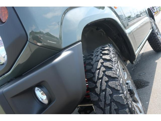 XL 4WD リフトアップ XC用16インチAW 社外フロントグリル 新品ジオランダー スズキセーフティーサポート シートヒーター オーディオレス ダウンヒルアシスト(78枚目)