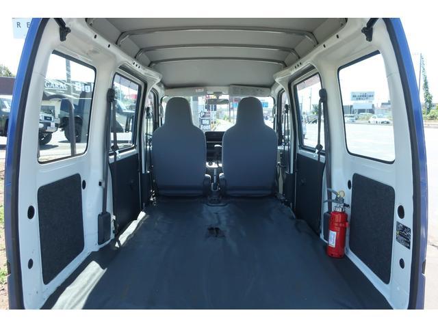 スペシャルクリーン パートタイム4WD 全塗装 社外14インチアルミ NANKANG M/Tタイヤ パワステ エアコン エアバッグ 集中ドアロック ドアバイザー ヘッドライトレベライザー 消火器 純正タイヤ4本付(52枚目)
