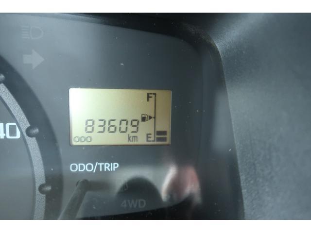 スタンダード 4WD あおりガード 荷台マット TOYOオープンカントリーRTタイヤ エアコン パワステ 三方開き純正フロアマット ドアバイザー(25枚目)