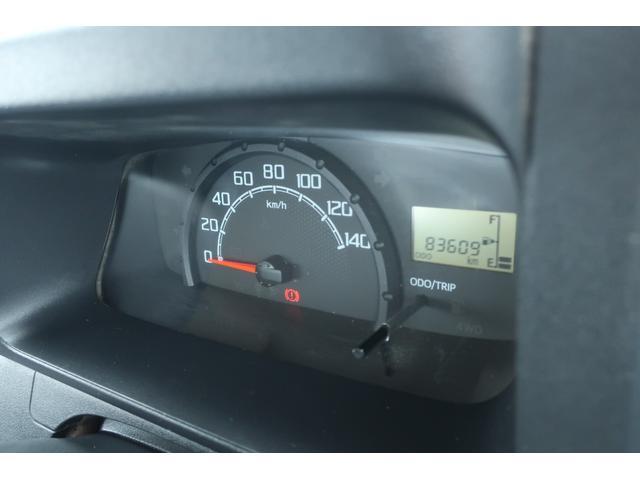スタンダード 4WD あおりガード 荷台マット TOYOオープンカントリーRTタイヤ エアコン パワステ 三方開き純正フロアマット ドアバイザー(26枚目)