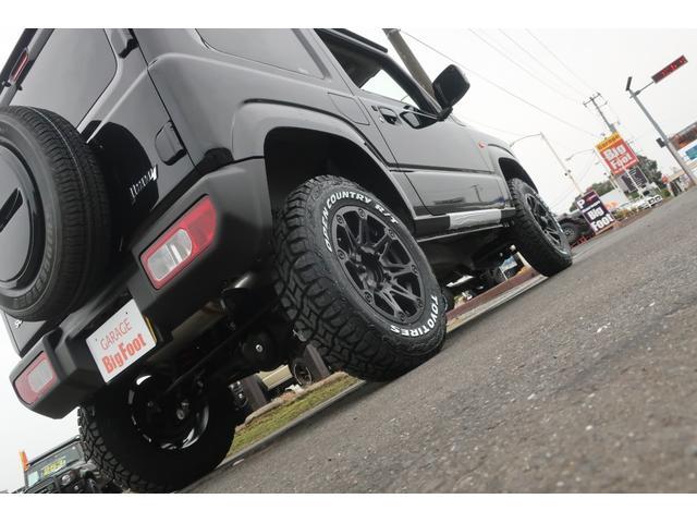 XC 4WD リフトアップ 新品16インチアルミ 新品オープンカントリーRTタイヤ 届出済未使用車 LEDライト レーンアシスト ダウンヒルアシスト クルーズコントロール シートヒーター オーディオレス(61枚目)