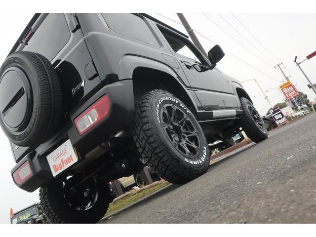 XC 4WD リフトアップ 新品16インチアルミ 新品オープンカントリーRTタイヤ 届出済未使用車 LEDライト レーンアシスト ダウンヒルアシスト クルーズコントロール シートヒーター オーディオレス(67枚目)