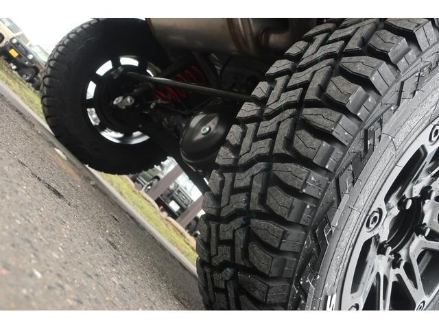 XC 4WD リフトアップ 新品16インチアルミ 新品オープンカントリーRTタイヤ 届出済未使用車 LEDライト レーンアシスト ダウンヒルアシスト クルーズコントロール シートヒーター オーディオレス(75枚目)