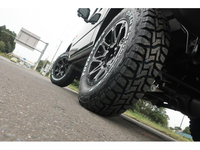 XC 4WD リフトアップ 新品16インチアルミ 新品オープンカントリーRTタイヤ 届出済未使用車 LEDライト レーンアシスト ダウンヒルアシスト クルーズコントロール シートヒーター オーディオレス(76枚目)
