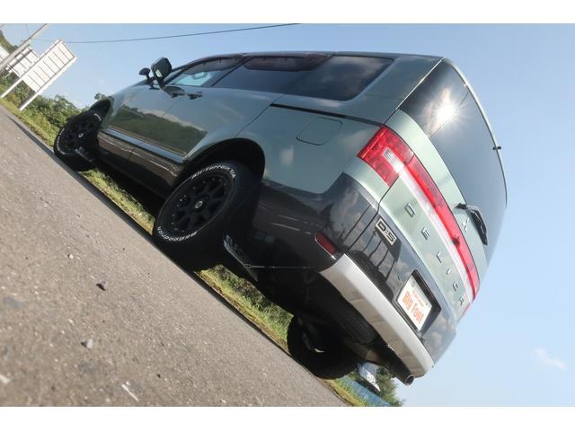 G プレミアム 4WD 社外16INアルミ BFグッドリッチ 純正大型フォグランプ ロックフォードサウンドシステム HDDナビ ETC HIDヘッドライト クルーズコントロール 両側電動スライドドア パワーバックドア(6枚目)