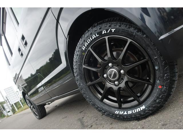 ジョインターボ 4WD 社外HDDナビ 地デジ ETC 社外14インチアルミホイール 新品MUDSTAR A/Tタイヤ クラッツィオシートカバー 両側スライドドア キーレス ヘッドライトレベライザー 純正ゴムマット(8枚目)