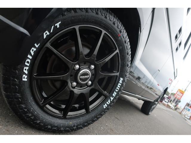 ジョインターボ 4WD 社外HDDナビ 地デジ ETC 社外14インチアルミホイール 新品MUDSTAR A/Tタイヤ クラッツィオシートカバー 両側スライドドア キーレス ヘッドライトレベライザー 純正ゴムマット(73枚目)