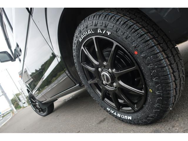ジョインターボ 4WD 社外HDDナビ 地デジ ETC 社外14インチアルミホイール 新品MUDSTAR A/Tタイヤ クラッツィオシートカバー 両側スライドドア キーレス ヘッドライトレベライザー 純正ゴムマット(74枚目)