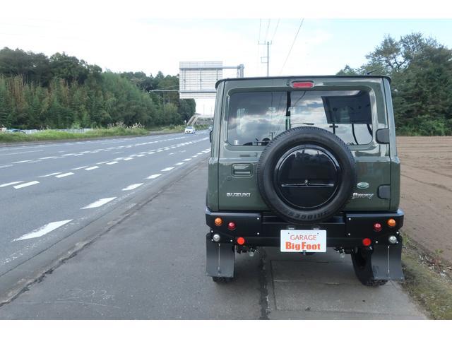 XC 4WD DAMD littleDエアロKIT リフトアップ 新品16インチ 新品ジオランダー レーンアシスト ダウンヒルアシスト LEDライト シートヒーター クルーズコントロール届出済未使用車(4枚目)